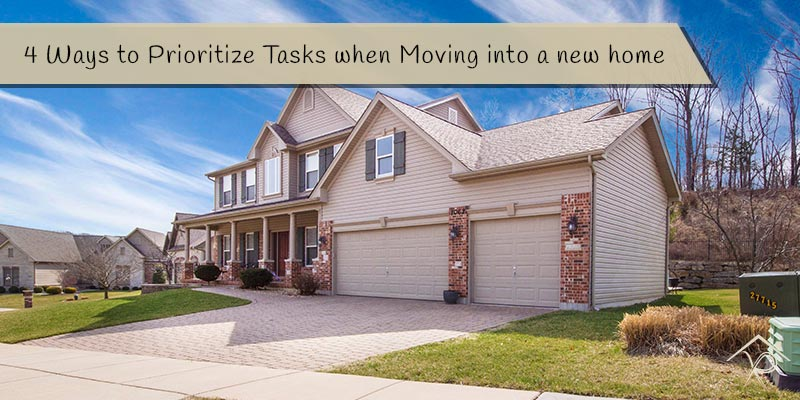 4 Ways to Prioritize Tasks when Moving into a new home - Yesurs Realty & Kris Pat