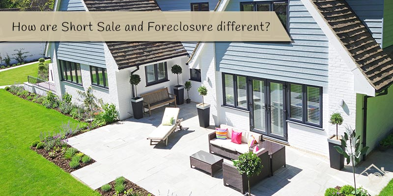 How are Short Sale and Foreclosure different - Yesurs Realty & Kris Pat